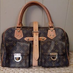 Authentic Louis Vuitton Manhattan bag